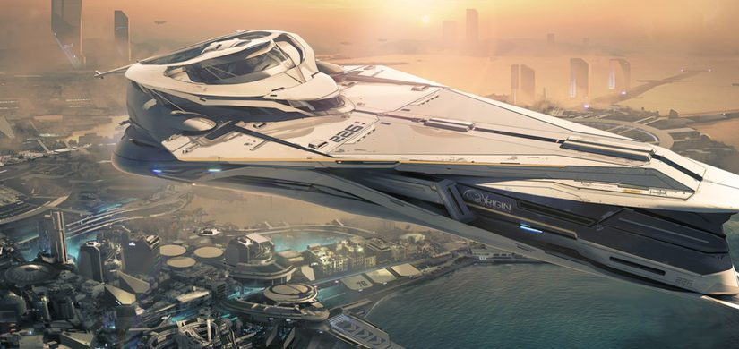 Star Citizen 890 Jump Superyacht